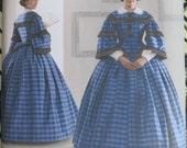 Simplicity Costume Dress Pattern 3727