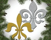 Fleur di Lis Ornament Set of 6