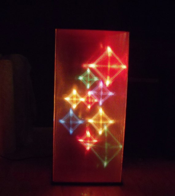 Color changing light organ sound sensitive 70s by for Classic house organ sound