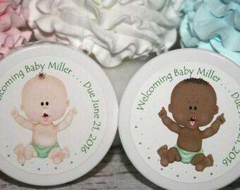 Baby Shower Favors - Gender Neutral Baby Shower - Shower Favor - Unique Shower Favor - Whipped Body Butter - Personalized Favor