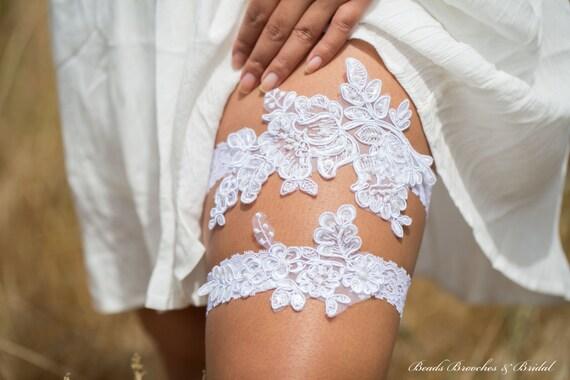 fleur dentelle mariage jarretire set jarretire dentelle dentelle perle blanche paillettes jarretire jarretire - Jarretiere Mariage