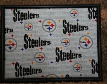 Small Steelers Photo / Memo Board