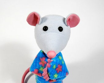 Animal hand puppet for children  -  mouse Minnie