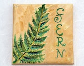 SALE // Fern Botanical Painting by Gina Caldwell