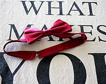 Vintage Bow Tie, Hipster Bow Tie, Accessory for Men, 60s Vintage Tie, Tie for Men, Retro Bow Tie, Chic Bow Tie, Groomsman Tie, Classis Tie