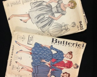 Vintage Teen Party Dress Patterns