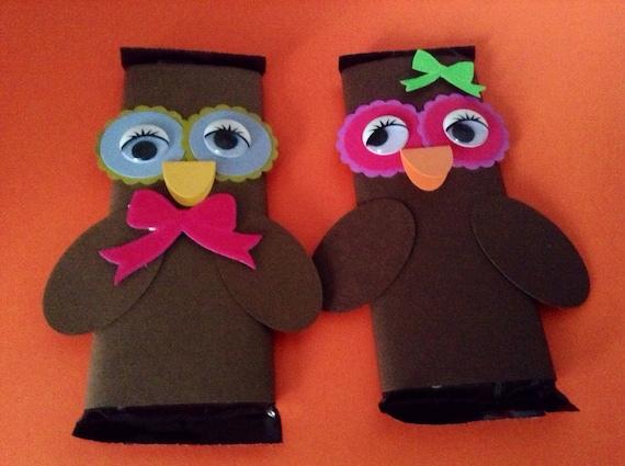 Owl Hershey Bar Wrapper