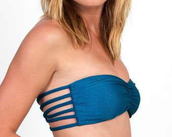 """The """"Bri"""" REVERSIBLE Strappy Bandeau TOP"""