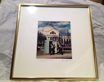 Jim Spillane Presidential Inaugural Photograph Signed 1980's POTUS