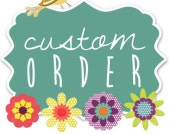 Custom order for Rebecca - size 5 waist 4 appliqué tops