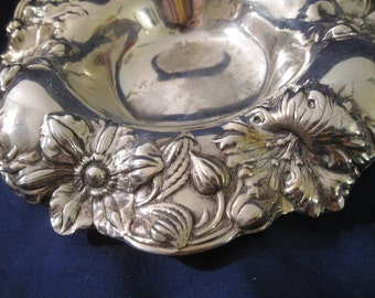 Reed&Barton dish Art Nouveau metall silver plate