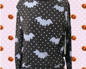 Hello Cavities LIMITED EDITION Twinkle Twinkle Bat Sweatshirt in CHARCOAL