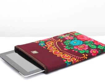 Floral Ethnic iPad Cover, iPad Case, iPad Mini Cover, iPad Mini Case, iPad Air Case, iPad 2, iPad 3, iPad 4, iPad 5 - Choose Colour