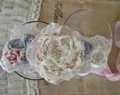 Vintage Bridal Sash Choose Your Colors