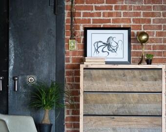 Proffitt Tall Dresser - Rustic Modern
