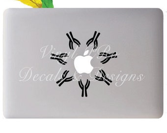 Antibody Structure Function Human Body  Health Lab Science Protein Plasma Cell Decal for Apple Macbook