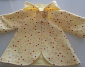 Waldorf Doll Hooded and Lined Cotton Coat