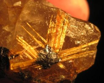 Rutile quartz - Rock crystal - Lapidary stones - Rutile quartz raw