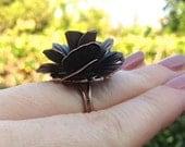 Bronze Rose Ring
