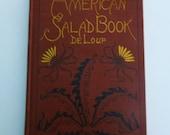 Vintage Cookbook: The American Salad Book by Maximilian de Loup, 1923