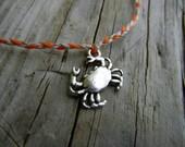 Crabby Crab wish bracelet