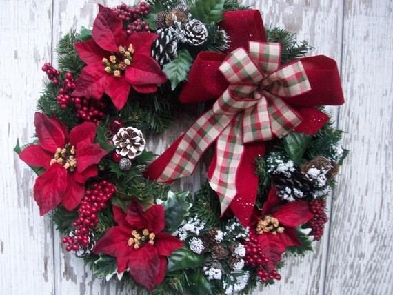 sale wreath christmas wreath small wreath holiday d cor. Black Bedroom Furniture Sets. Home Design Ideas