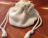 White String Handbag