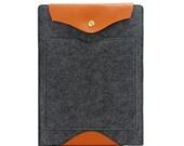 Laptop Sleeve Felt 11 inch MacBook Air Sleeve 11 MacBook Air Case 11 Laptop Bag with Pocket Custom Made E2020