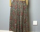Paisley Skirt / Vintage L...
