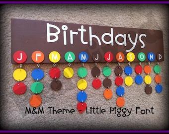 Birthday Board - Never Forget a Birthday Again
