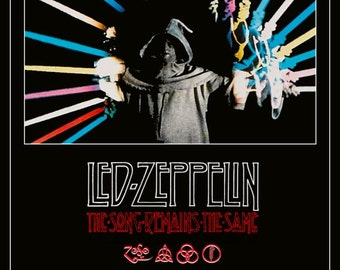 Led Zeppelin Quot The Song Remains The Same Quot Stand Up Movie