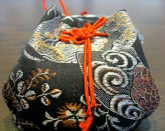 Ornament,the treasure bag from Obi kimono fabric
