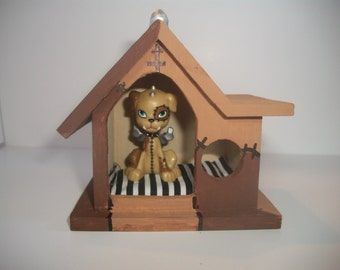 Monster High Frankie Stein's Pet Watzit's Dog House Handmade