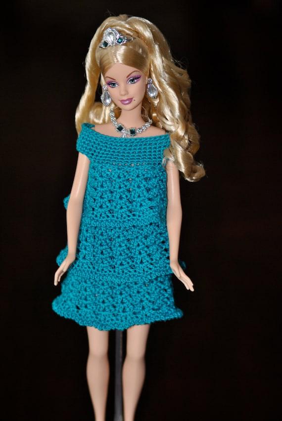 Crochet Pattern Central Barbie Clothes : Crochet Pattern Barbie Doll Ruffle Dress 2017-2018 Car ...