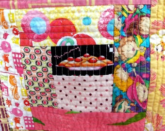 Quilt, Adult Teen or Child - Blanket of Pinks