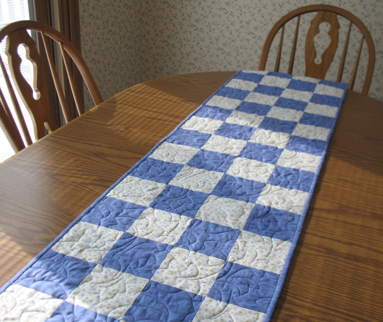 quilted  patterns runner table reversible Lights Pendant & Chandeliers