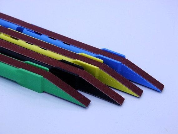 24 Piece Sanding Detailer Kit With Extra Belts Finer Grit