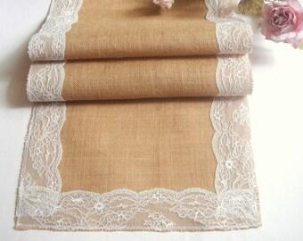 Burlap Wedding Table Runner, Eco friendly  Burlap Table Runner , Wedding Table Setting,Rustic Table Runner