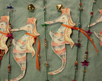 Magic Sea horse wands party decoration