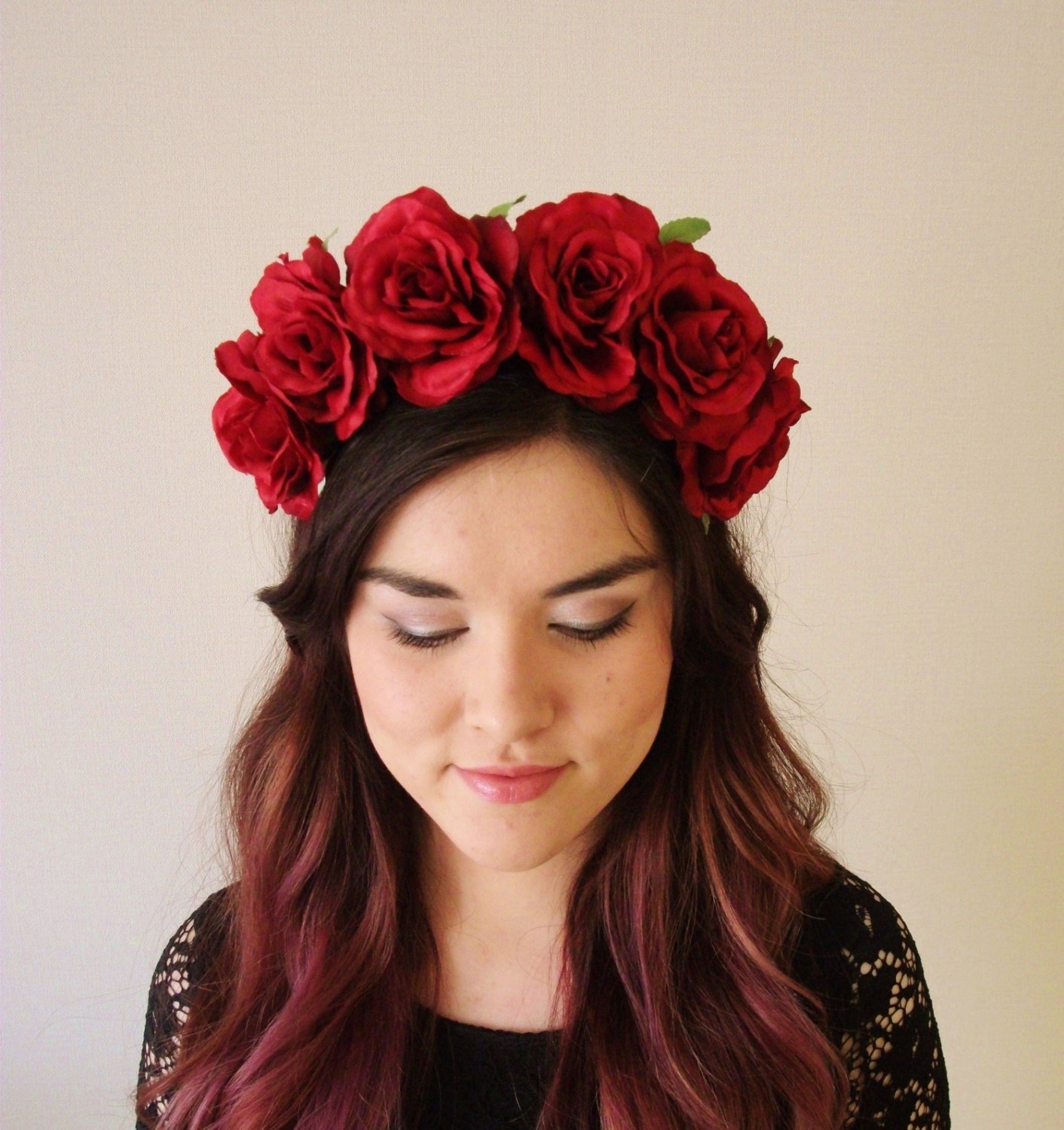 Rose Flower Rose Flower Headband