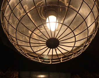 Vintage Superelectric Heater lamp.