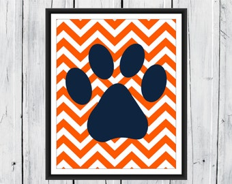 Nursery Print - Puppy Nursery - Dog themed Nursery - Custom Sizes, Backgrounds and Colors- Nursery Decor