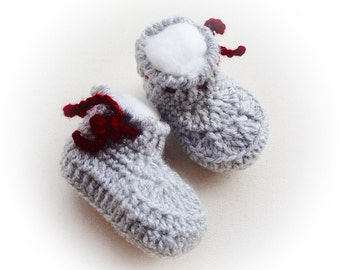 Buy Baby Lovely Crochet Boots