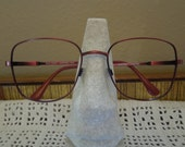 Vintage Oversized  Marchon Eyeglasses Made in Italy  FREE Shipping