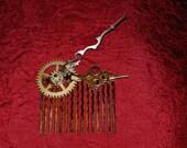 Steampunk Time - Hair Comb