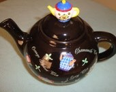 Teapot Thai Pottery Papel Freenlance Made in Thailand, Excellent condition