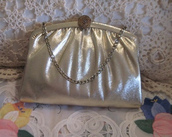 Sweet Vintage Evening Bag Clutch  Purse