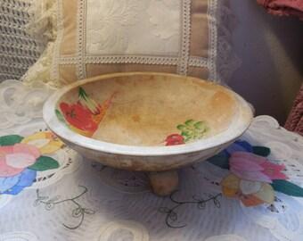 Woodcrafter Wooden Bowl, Vintage Wood Bowl, Vintage Kitchen Decor, Vintage Kitchen, Vintage Wood Dishes, Vintage Dishes, :)s*