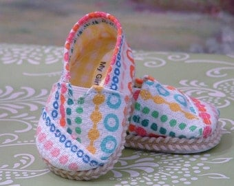 Colorful Tom Style Shoes for American Girl Doll