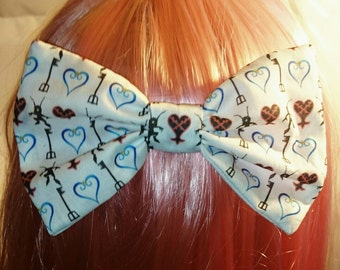 Kingdom Hearts Heartless Hair Bow Barrette